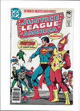 "JUSTICE LEAGUE OF AMERICA #179  [1980 VG+]  ""THE SIREN SONG OF THE SATIN SATAN!"""