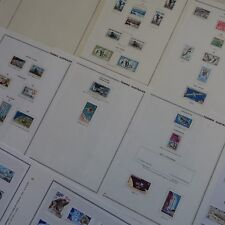 COLLECTION DE TIMBRES TAAF NEUFS *  COTE 1850€