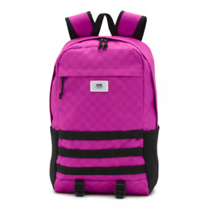 Vans Transplant Backpack Pink/Black New with Tags VN0A3I6ARAA