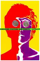 John Lennon Psychedelic The Beatles Artwork.  Poster REPRINT (11x17)