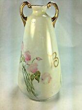 Antique Royal Crescent China Bavaria Double Handle Bud Vase