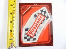 Genuine Original Firestone Tyres - Paddy Hopkirk 1960/70s Woven Cloth Patch