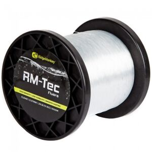 Ridgemonkey RM-Tec Fluorocarbon 1000m Fishing Line Ridge Monkey Fluoro Mainline
