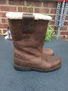 Timberland Leather Boots Size 5