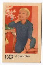 1960s Swedish Film Star Card Bilder C #19 British Singer Actress Petula Clark