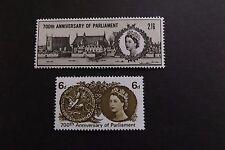 GB MNH STAMP SET 1965 700th Anniv Parliament (ord) SG 663-664 UMM
