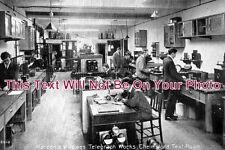 ES 173 - Test Room, Marconi's Wireless Telegraph Works, Chelmsford, Essex Photo