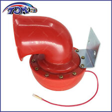 NEW 12V RED ELECTRIC BULL AIR HORN 200DB FOR CAR TRUCK BOAT