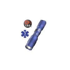 STREAMLIGHT Blue PROTAC EMS Services LED Flashlight Light with Batteries 88034