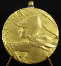 Médaille guerrière casquée warrior helmeted 40 mm pour la patrie Patria medal