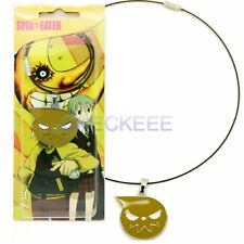 Soul Eater Symbol Pendant Necklace yellow Cosplay Accessories