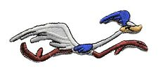 """Looney Tunes Road Runner Running 4"""" Wide Embroidered Patch"""