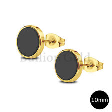 Yg 10Mm Be262Ygl Mitch Stud Earrings |