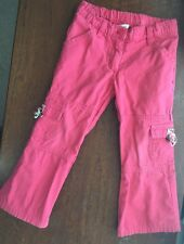 GYMBOREE Teachers Pet Pink Pants 3 3T Adjustable Spring Bottoms VINTAGE 2004