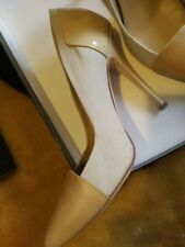 Giuseppe Zanotti Kalifa Leather Pump shoes Nude color size 36.5 6.5