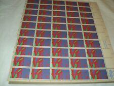 Sheet Of 50  Vintage LOVE  8 cent  Mailing Stamps