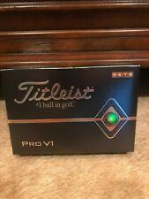 New listing Titleist Pro V1 2019 Golf Balls - 1 Dozen