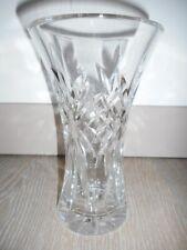 vase vaas glass Verre art déco blanc géométrie croix bohème