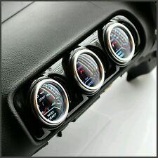 Seat Leon 8L Centre Air Vent Pod Gauge Holder 3 Hole Audi A3 8L - Gloss Black