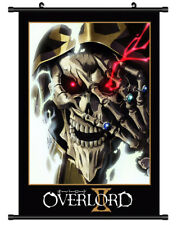 4628 Overlord Decor Poster Wall Scroll cosplay