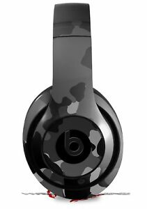 Skin for Beats Studio 2 3 Old School Camo Black HEADPHONES NOT INCLUDED