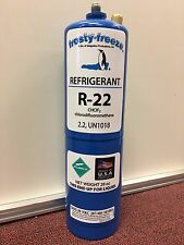 R22 Refrigerant R-22, Air Conditioner, Large 28 oz. Can, No Can Taper Needed!