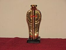 Franklin Mint Egyptian Cobra Porcelain Figurine