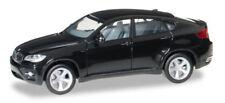 BMW X6 Nero Scala 1:87 H0 - Herpa 024037-002