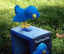 OLLIE THE TWITTER BIRD BLUE VINYL FIGURE TOY TWEET