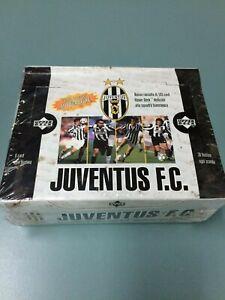 1998 Upper Deck Juventus. F. C Soccer trading Card Factroy Box (30 Packs)-Rare