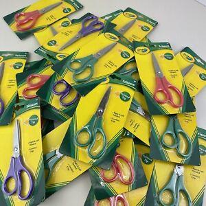 Crayola Pointed Tip Scissors For Teacher Student School Supplies 30 Count