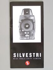 Silvestri Wide Angle Camera Catalog: Models H and SLV