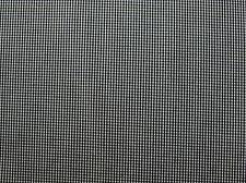 Baumwollstoff (€13/m²) 0,5m kariert kleines Karo (1mm) 1,5m breit kleinkariert