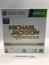 MICHAEL JACKSON THE EXPERIENCE COLLECTOR'S EDITION - XBOX 360 - NUOVO SIGILLATO