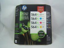 Genuine OEM Sealed HP 564 XL Ink Cartridges Expired 2013