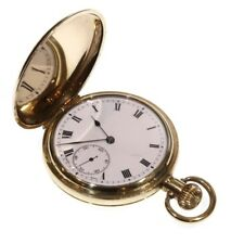 Antique Zenith C.1920 Keyless Full Hunter Pocket Watch. Serviced
