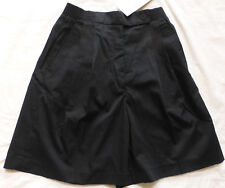 Vintage Womens Tennis Golf Athletic Shorts by COURT CASUALS, Black, Size 6, NWT
