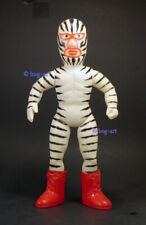 """Vintage 1969 NAKAJIMA TIGER MASK GREAT ZEBRA RED 12"""" bullmark sofubi wrestling"""