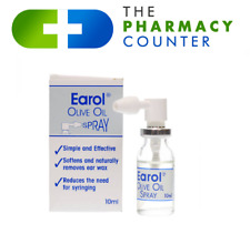 Earol Olive Oil Spray Ear Wax Remover 10ml Suitable for Ages 12 and Over