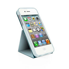 Iphone 5 cubierta, MaCally Flip Cover Case Con Soporte Para iPhone 5 Giratoria-Blue