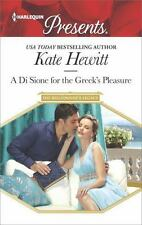 A Di Sione for the Greek's Pleasure (The Billionaire's Legacy) by Hewitt, Kate,