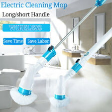 Cordless Power Scrubber Electric Cleaning Brush Rotating Bathtub Telescopic
