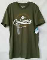 Columbia Mens T-Shirt Graphic Tee Blue/Black/Green/Gray/Red L/XL New With Tags