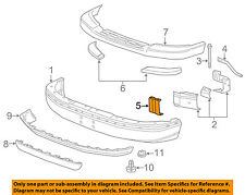 GM OEM FRONT BUMPER-Center Reinforcement 15753328
