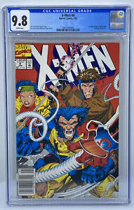 "X-Men #4 CGC 9.8 (Marvel 1992) WP ""Newsstand"" 1st Omega Red Jim Lee Wolverine"