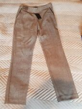 NEW LOOK - Womens Black/White fleck slim leg Trouser. Size 10. NEW.