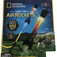 NATGEO Light Up Air Rockets