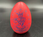 White House Easter Egg 2005 Hot  Pink Signed George and Laura Bush Wooden