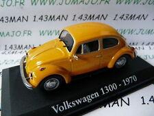voiture 1/43 RBA Italie IXO : Volkswagen 1300 1970 käfer  cox beetle