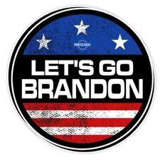 "LET'S GO BRANDON #F JOE BIDEN SENILE JOE STICKERS 10 PACK LOT 3"" ROUND DECALS"